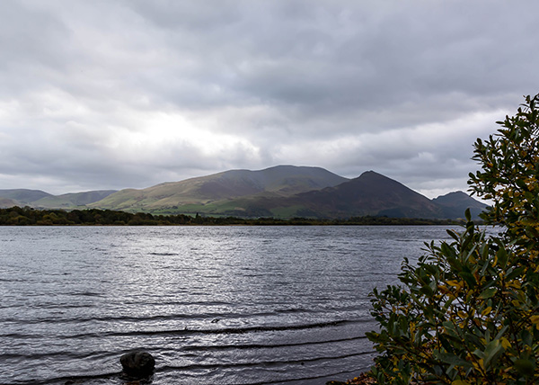View of Bassenthwaite water